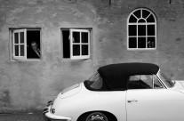 Porsche 356 Cabrio Bruiloft