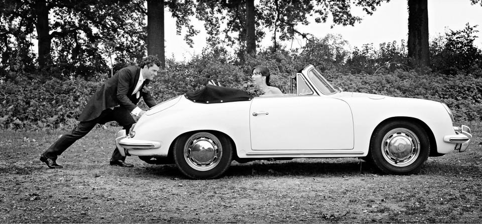 Porsche 356 SC cabriolet huren